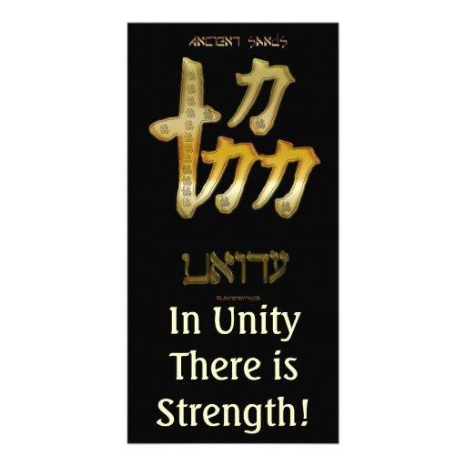 UNITY ~ Motivational Cards Photo Greeting Card