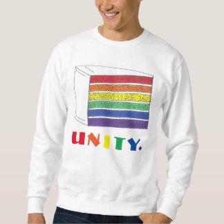UNITY Rainbow Cake Slice Pride Sweatshirt