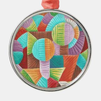 Unity Silver-Colored Round Ornament