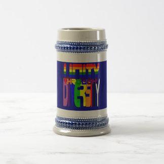 Unity through Diversity Stein 18 Oz Beer Stein