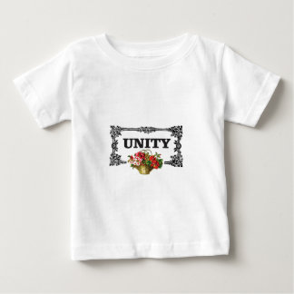 unity with flowers baby T-Shirt
