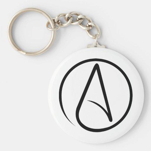 Universal Atheist Symbol Keychains