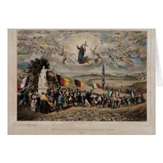 Universal Democratic and Social Republic, 1848 Card