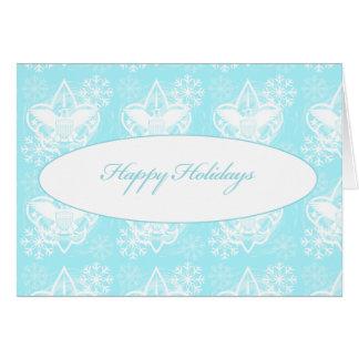 Universal Emblem Happy Holidays Greeting Card