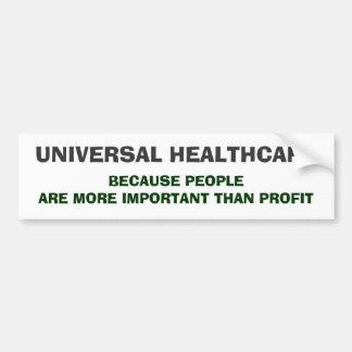 Universal HealthCare Bumper Sticker