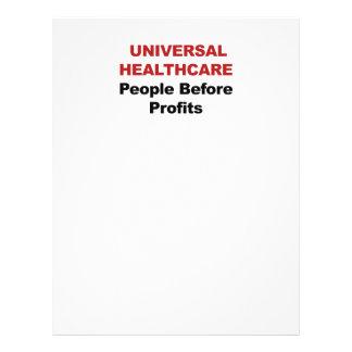 Universal HealthCare Custom Letterhead