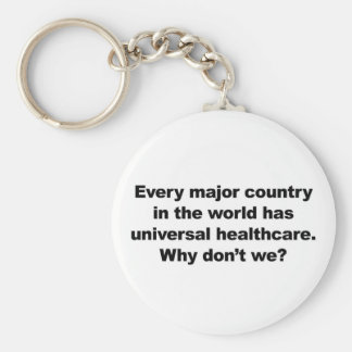 Universal Healthcare Keychain
