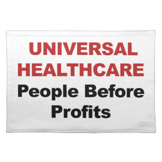 Universal HealthCare Placemat