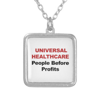 Universal HealthCare Silver Plated Necklace
