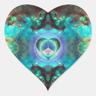 Universal Love Heart Sticker