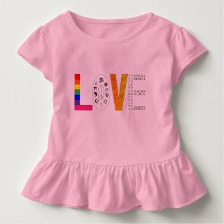 Universal Love Toddler T-shirt