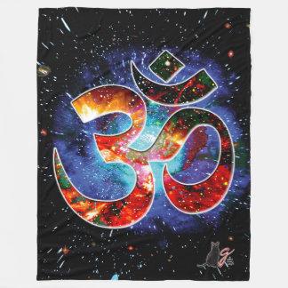 Universal OM Asana Fleece Blanket