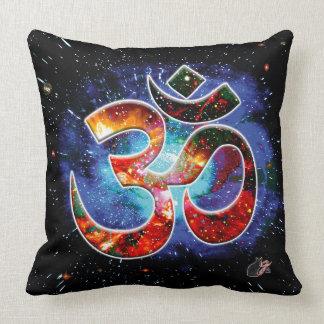 Universal OM Asana Throw Pillow