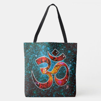 Universal OM Hum Tote Bag