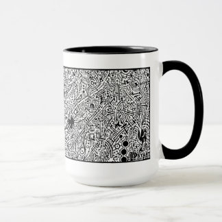 'Universal Seed' (crop section) NEGATIVE Mug