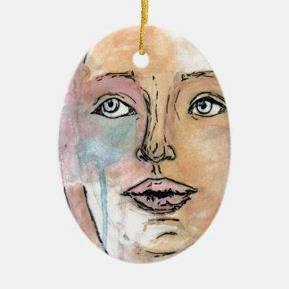 Universal Self Ceramic Ornament