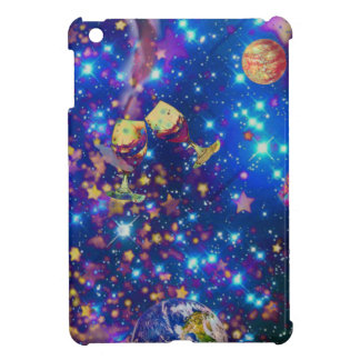 Universe and planets celebrate life with a tost.pn cover for the iPad mini