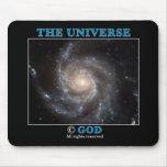 Universe Copyright Mouse Pads