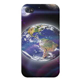 Universe digital art i-pod cover cases for iPhone 4