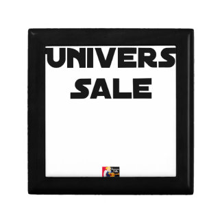 UNIVERSE DIRTY - Word games - François City Gift Box