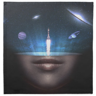Universe in the Mind Napkin