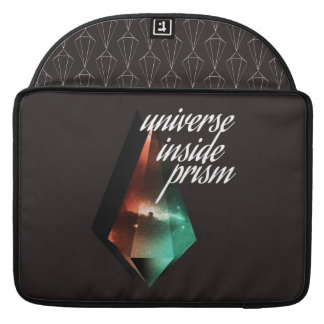 Universe inside prism sleeve for MacBook pro