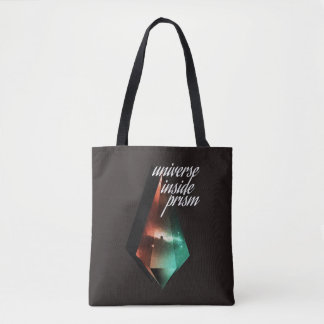 Universe inside prism tote bag