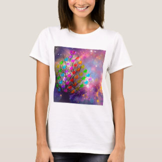 Universe is plenty of love, hearts and stars T-Shirt