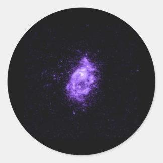 Universe like classic round sticker