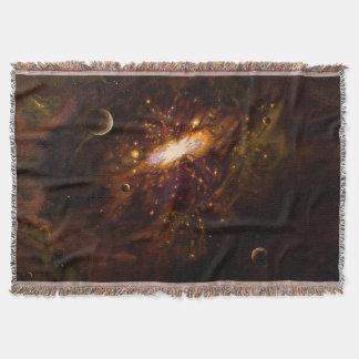 Universe, Milky Way Throw Blanket