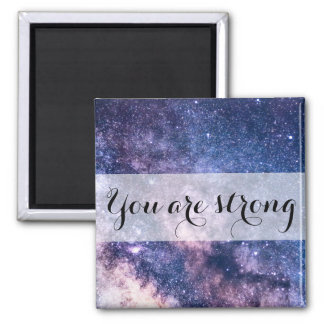 Universe Motivational Message-Affirmation Magnet