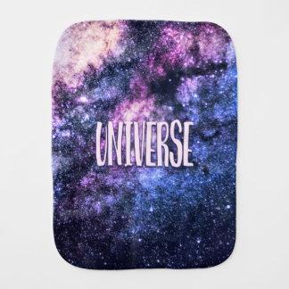 Universe photo Milky Way in Night sky Burp Cloth