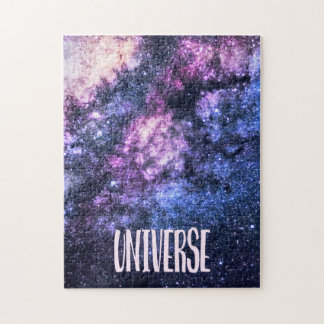 Universe photo Milky Way in Night sky Jigsaw Puzzle