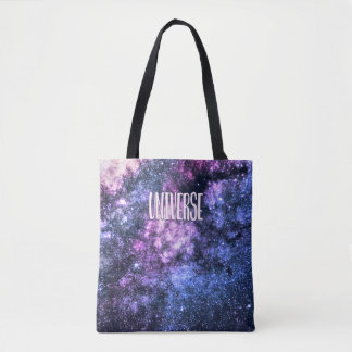 Universe photo Milky Way in Night sky Tote Bag