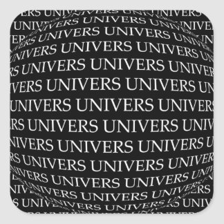 UNIVERSE SQUARE STICKER