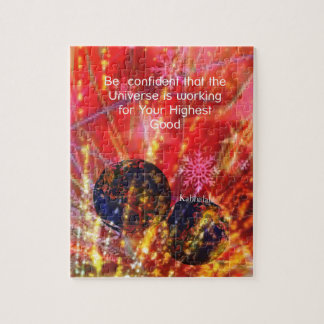 Universe works for you jigsaw puzzle