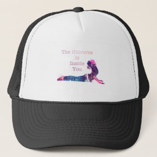 Universe Yoga Pose Series Trucker Hat