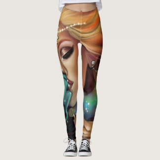 Universes collide leggings