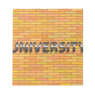 Universiry Sign Notepad