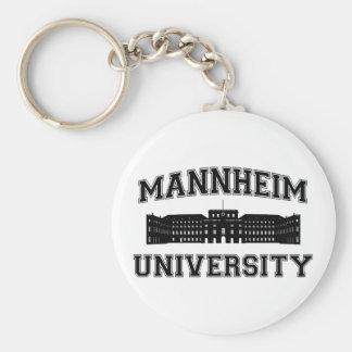 Universität Mannheim / Mannheim University Basic Round Button Keychain
