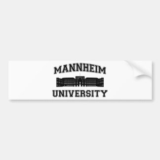 Universität Mannheim / Mannheim University Bumper Sticker
