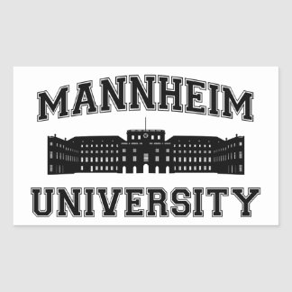 Universität Mannheim / Mannheim University Sticker