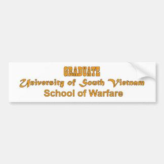 Université du Vietnam du Sud - école de la guerre Autocollant De Voiture