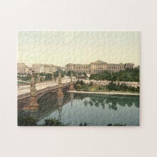 University and Bridge, Strasbourg, Alsace, France Puzzle
