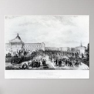 University College School, London, 1835 Poster