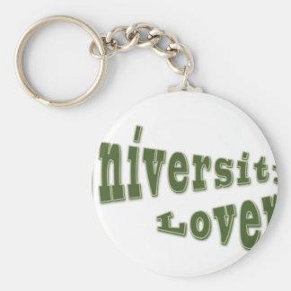 university lover keychains