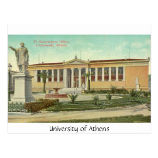University of Athens, postcard