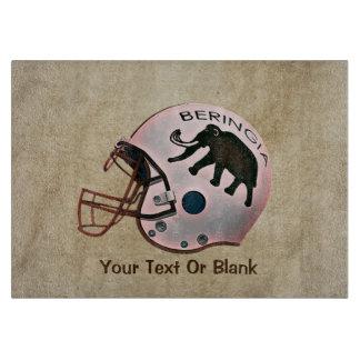 University of Beringia Football Helmet Cutting Board
