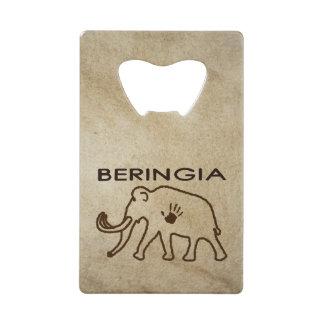 University of Beringia Mammoth Credit Card Bottle Opener