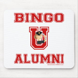 University Of Bingo character in letter mouse pad